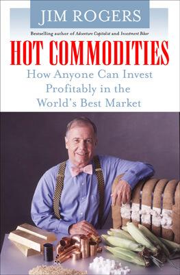 """Un libro molto interessante sull'argomento del """"guru"""" dell'investimento in commodity. Ma solo in edizione inglese"""