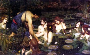 Waterhouse the Nymphs