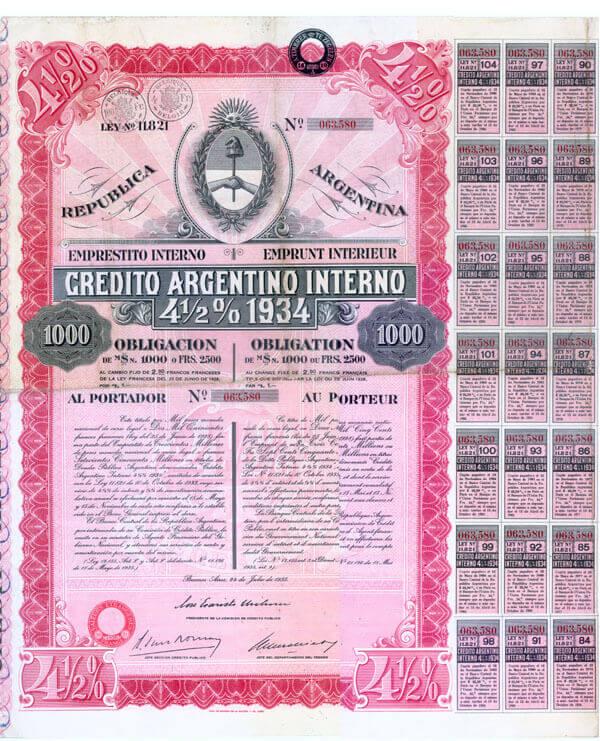 Obbligazione argentina