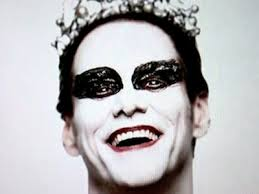 "Jim Carrey nella parodia di ""The Black Swan"""