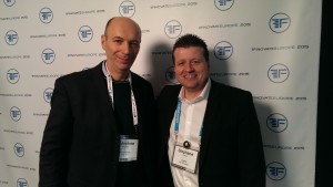 Finovate London 2015 - Salvatore Gaziano e Stephane Dubuois di XIgnite