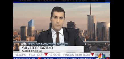 Salvatore Gaziano In collegamento con Caffé Affari 29 marzo 2016
