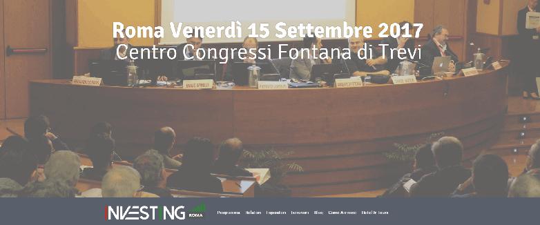 A INVESTING ROMA 2017 SI PARLA DI PIR E GESTIONE DI PATRIMONI CON SOLDIEXPERT IN CATTEDRA