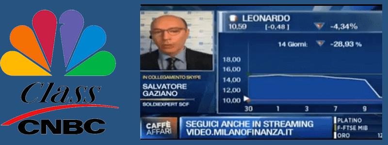 Leonardo precipita a Piazza Affari come un elicottero