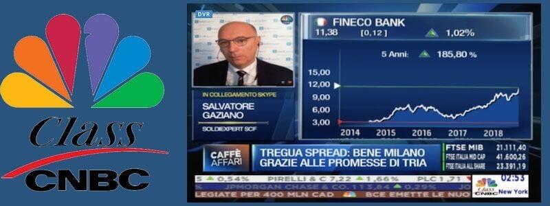 Banche Italiane -20% da fine aprile, Fineco ai massimi storici