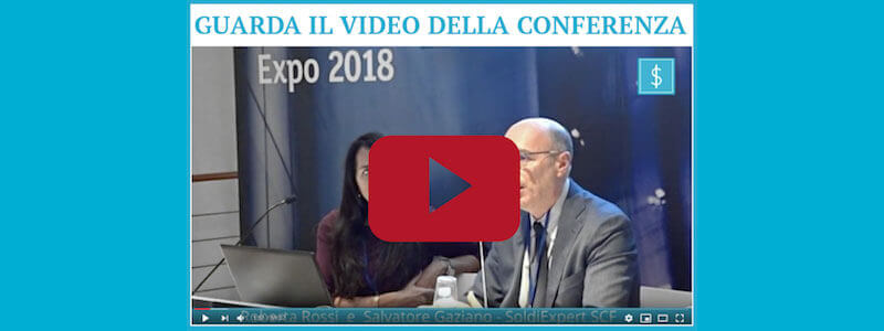 """ITALIA SI', ITALIA NO"" IL VIDEO DELLA CONFERENZA DI SOLDIEXPERT SCF ALLA BORSA ITALIANA"