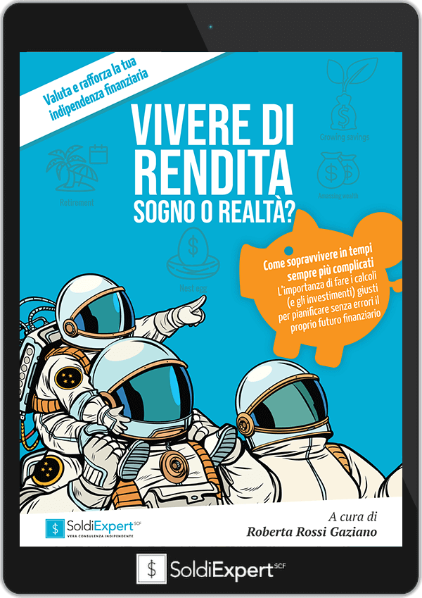cover ebook vivere di rendita