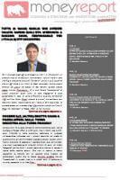 E' ONLINE MONEYREPORT REVIEW (in pdf) di GENNAIO