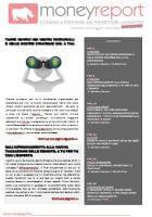 E' ONLINE MONEYREPORT REVIEW (in pdf) di MARZO