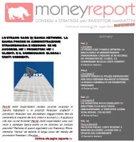 E' ONLINE MONEYREPORT REVIEW (in pdf) di LUGLIO